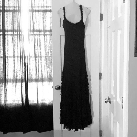 Cache Dresses & Skirts - Black floor length gown